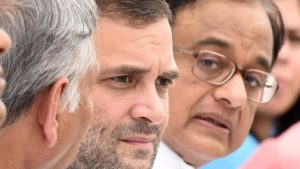 Rahul, Chidambaram target Modi over cash withdrawal limit after 50-day deadline