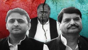 Mulayam Singh Yadav expels Akhilesh Yadav from Samajwadi Party