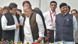 Akhilesh's team denies orchestrated feud