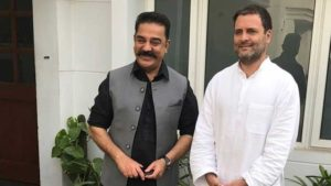 Kamal Haasan meets Rahul Gandhi, calls it 'courtesy meeting'