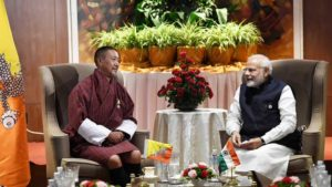 PM Narendra Modi holds bilateral talks with leaders of Thailand, Myanmar and Bhutan