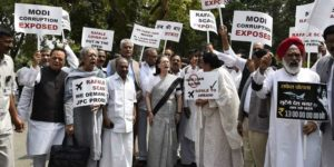 Led by Sonia Gandhi, opposition MPs hold protests over Rafale deal