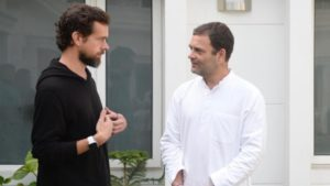 Twitter CEO Jack Dorsey meets Rahul Gandhi to discuss steps to curb fake news